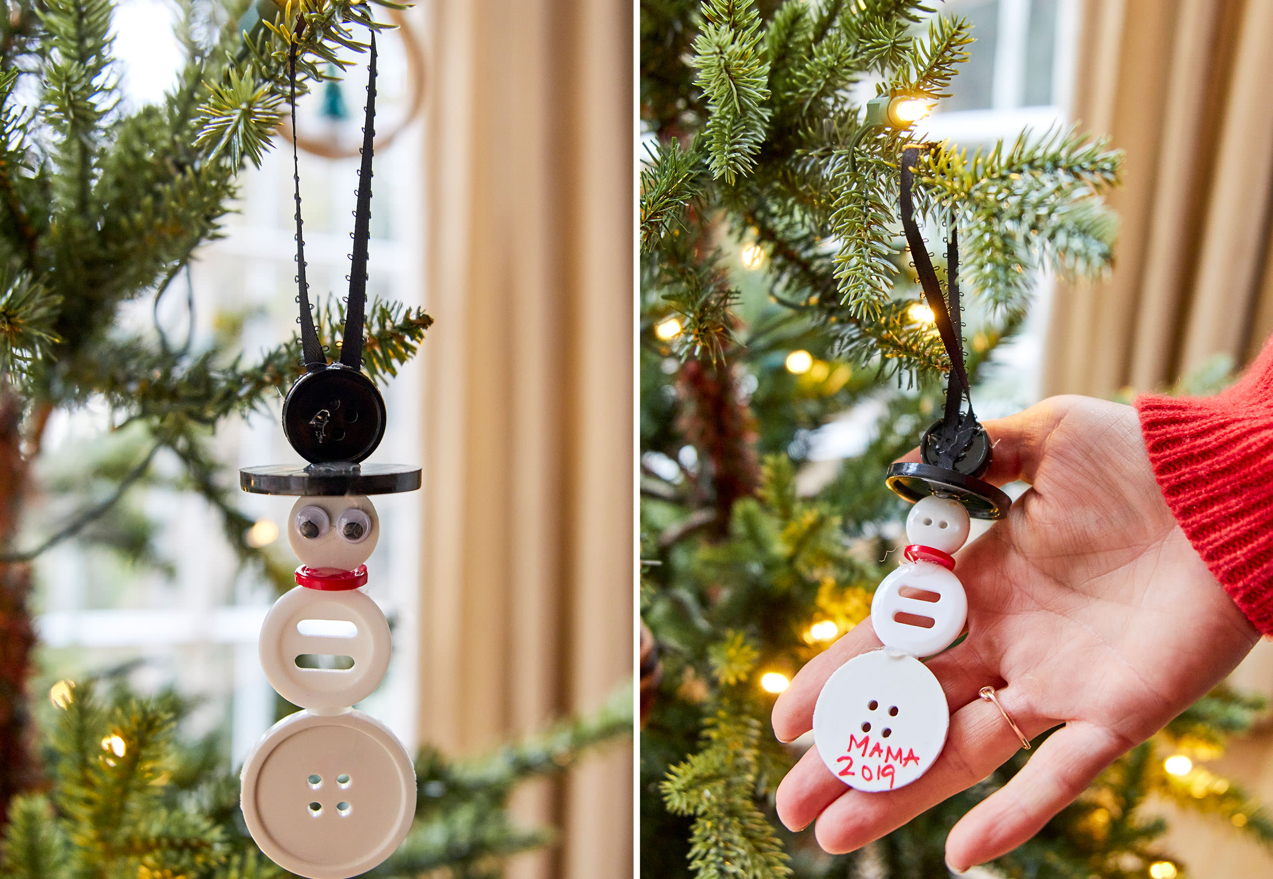 Emily Henderson Diy Ornaments Button