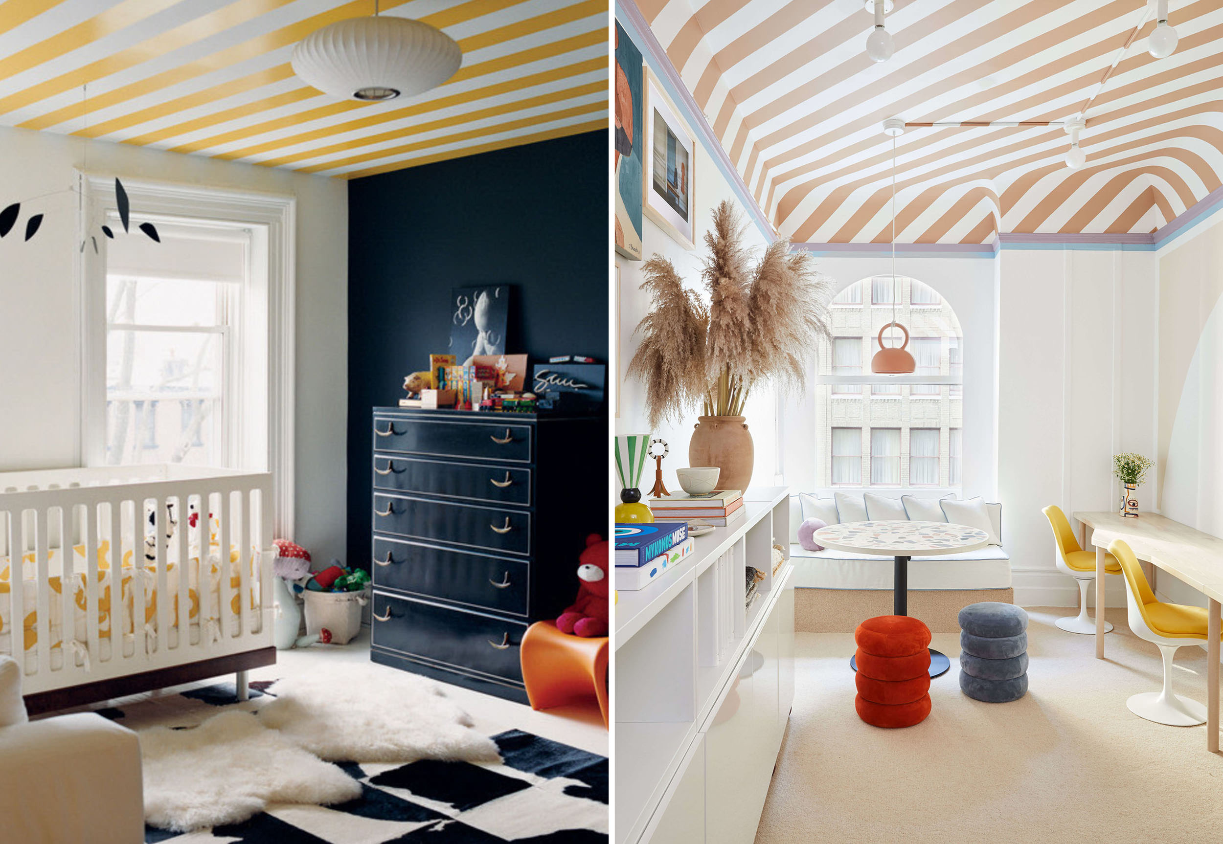Emily Henderson Ceiling Painted Patterns 6 1
