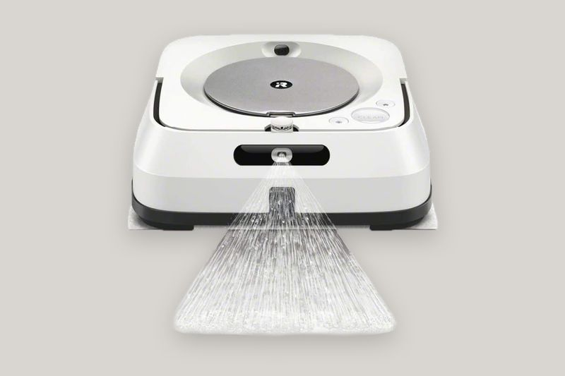 iRobot Braava Jet M6 (6110) Ultimate Robot Mop- Wi-Fi Connected