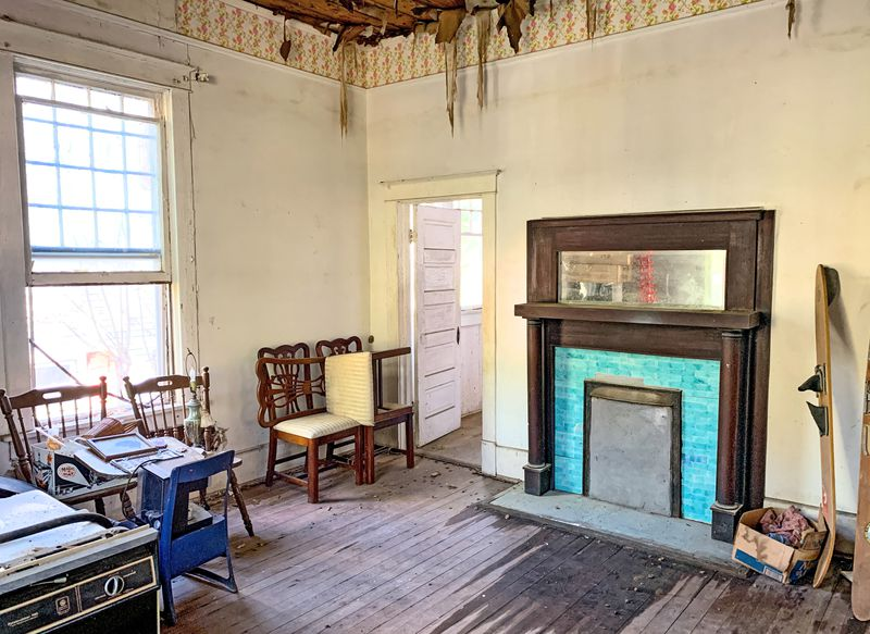 Save This Old House: Water Valley, MS, bedroom, July/Aug 2020